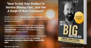 Big Marketing Idea Book by Todd Brown Download