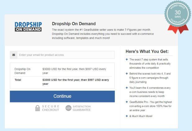 Don Wilson – Dropship On Demand Download
