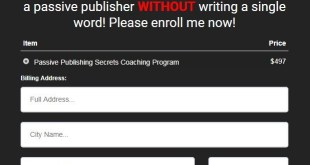 Duston McGroarty – Passive Publishing Secrets Download