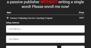 Duston McGroarty – Passive Publishing Secrets Download