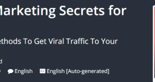 SEO Training - Dirty Marketing Secrets for Website Traffic Download