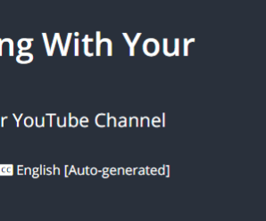 [GET] Secrets To Making A Living With Your YouTube Videos Download