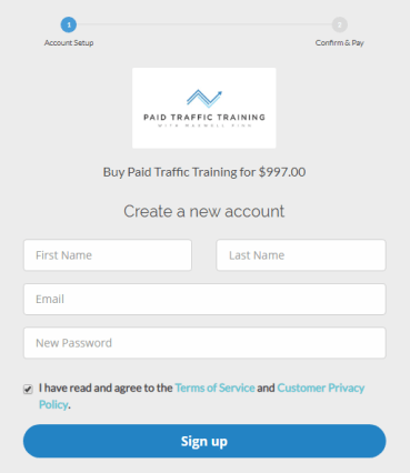 Maxwell Finn - Paid Traffic Training 2.0 Download