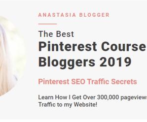[SUPER HOT SHARE] Anastasia – Pinterest SEO Traffic Secrets 2019 Download