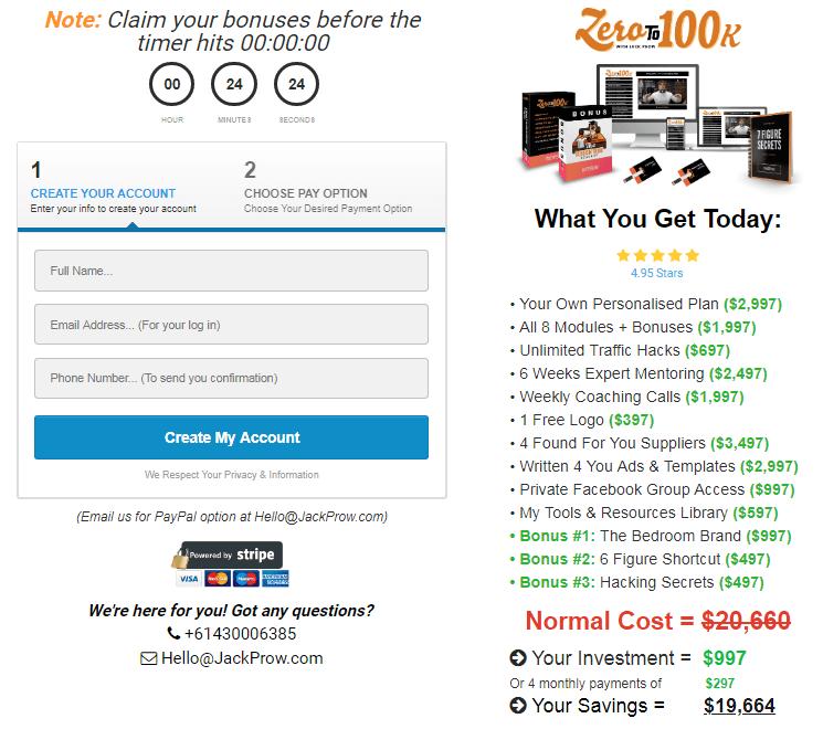 Jack Prow - Zero To 100k Download