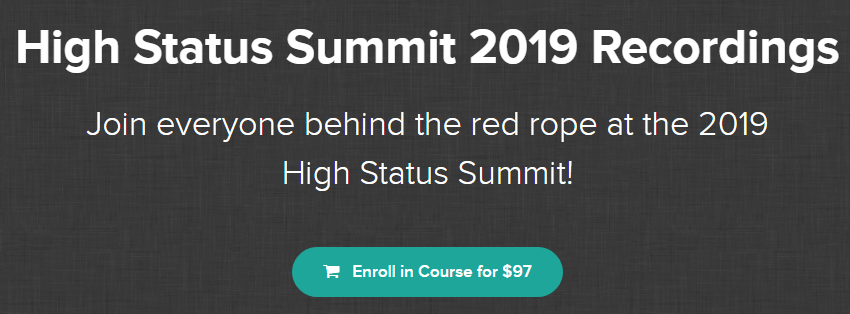 Jason Capital - High Status Summit 2019 Recordings Download