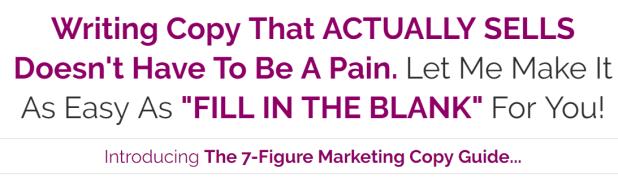 Sean Vosler - The 7-Figure Marketing Copy Guide Download