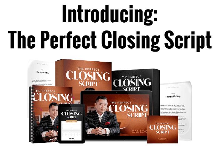 Dan Lok – Perfect Closing Script Download