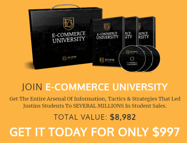 Justin Woll 2019 BSF E-commerce University Download
