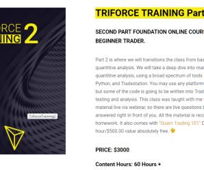 [SUPER HOT SHARE] Matthew Owens – Triforce Training Part 2 Download