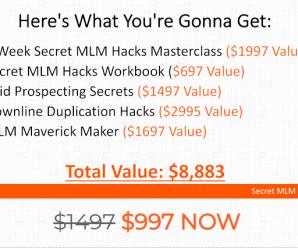 [SUPER HOT SHARE] Stephen Larsen – Secret MLM Hacks Download