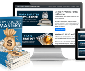 [GET] Low Content Publishing Mastery Download