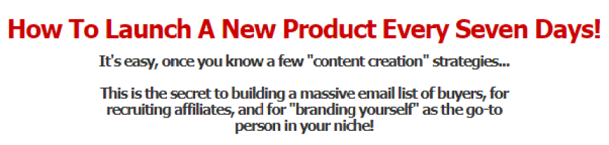 How To Launch A New Product Every Seven Days Download