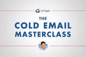 Joel Kaplan - Cold Email Masterclasses Download