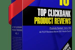 Top ClickBank Product Reviews 2020 PLR Download
