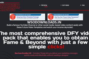 Envideo 2.0 - Youtube Templates FE + OTO Download