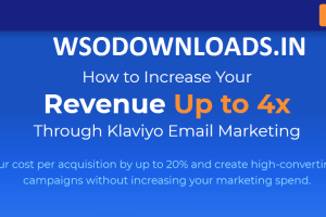 Klaviyo Email Marketing Masterclass Download