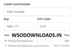 Mike Harri - Pinterest Ecom Masterclass Download