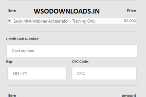 JOEL ERWAY - The $50k Mini-Webinar Accelerator Download