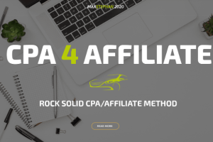 CPA 4 Affiliate – Smart 2020 CPA Method to Make $500 Daily Download