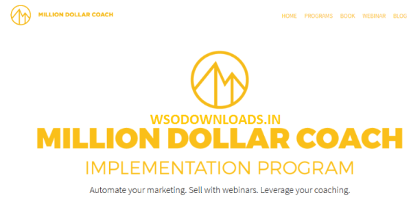 Taki Moore – Million Dollar Coach Implementation Program Download