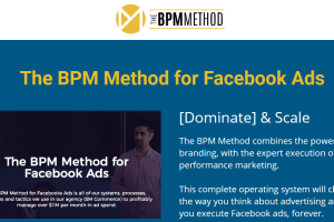 Depesh Mandalia – The BPM Method (Facebook Ads 2020) Download