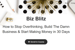 Biz Blitz - Elise McDowell Free Download