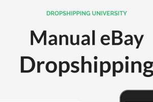 Tom Cormier – Manual eBay Dropshipping Download