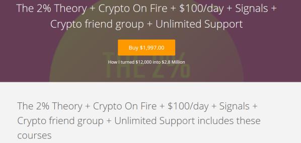 Anna Macko – The 2% Theory + Crypto On Fire + $100/day