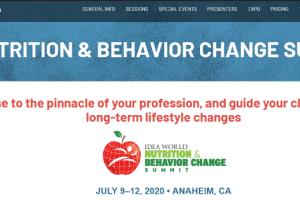 IDEA World Nutrition & Behavior Change Summit Free Download