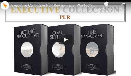 2020 Executive Collection PLR - 3 Executive Collection PLR Pack Free Download