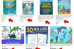 DFY Ocean Animals Coloring Bundle + OTOs Free Download