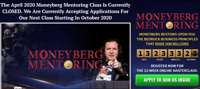 Derek Moneyburg – Moneyburg Mentoring Download