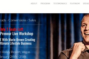 Mario Brown MissionPreneur Live Workshop Download