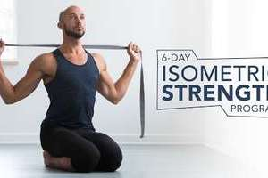 6-Day Isometric Strength Program Free Download