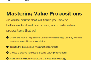 Strategyzer – Mastering Value Propositions Download
