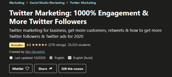 Twitter Marketing - 1000% Engagement & More Twitter Followers Free Download