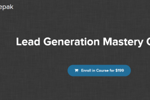 Deepak Kanakaraju – Lead Generation Mastery Download