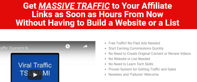 Viral Traffic Tsunami + ALL OTO's Free Download