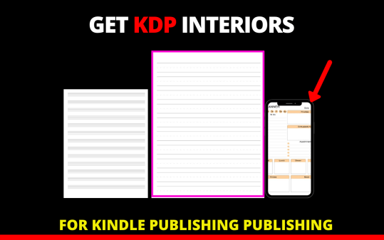 KDP Interiors for Low Content Publishing Free Download