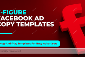 Mark William – 7-Figure Facebook Ad Copy Templates Download