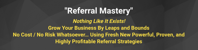 Jay Abraham – Referral Mastery Download