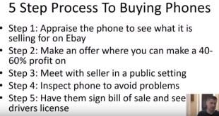 How David Kosciusko Makes $20,000 A Month Buying & Selling Phones On Ebay