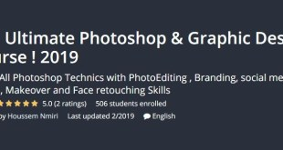 Udemy - The Ultimate Photoshop and Graphic Design Course ! 2019