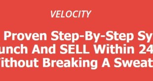 Velocity - Product Creation Course Download