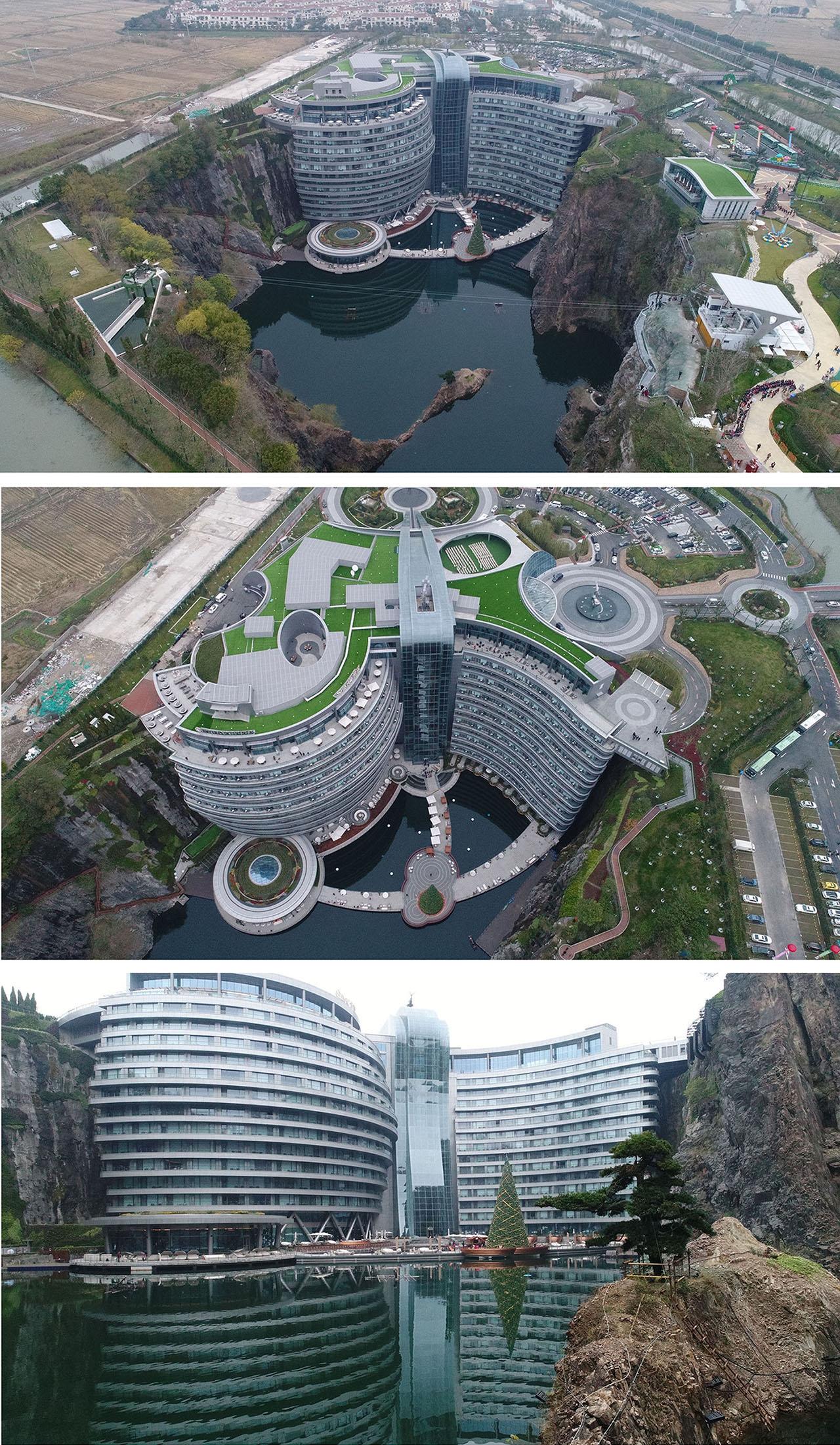 中國上海世茂深坑洲際酒店開幕   WSP