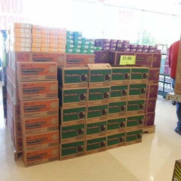 girl scout cookies at deal mart in mauldin from deborah douglas_175070