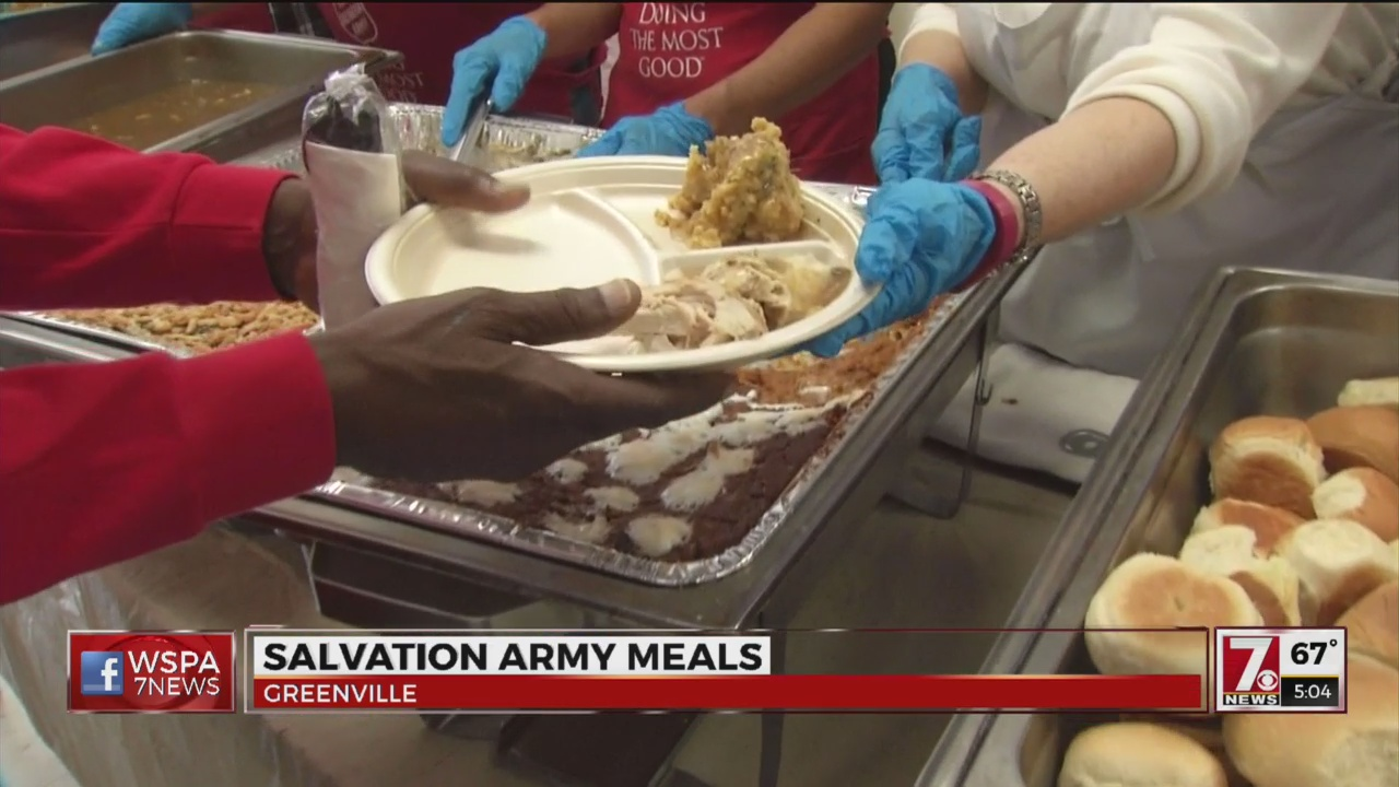 Salvation Army feeds hundreds in Greenville