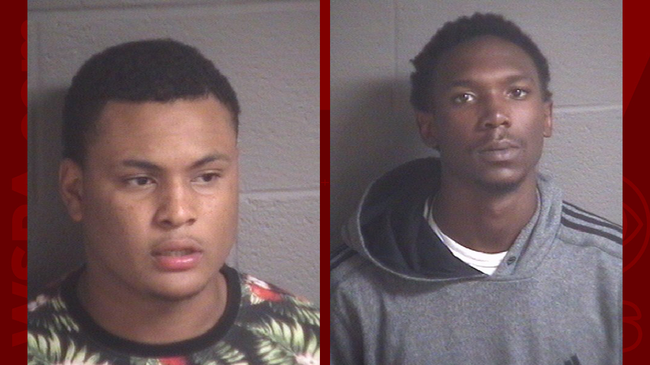Kareem Holloway (left) and Anthony Wiggins_296378
