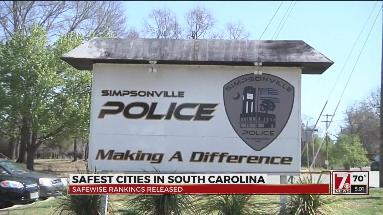 Is your city the safest in South Carolina?